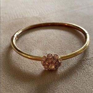 Kate spade gold bangle bracelet